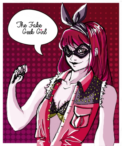 The Fake Geek Girl Portrait copy